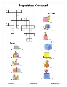 Prepositions Crossword-page-001