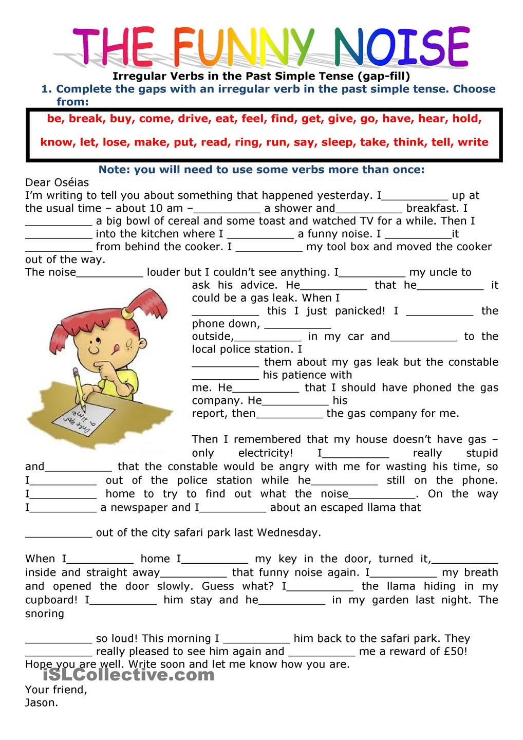 Worksheet Simple Reading Comprehension reading comprehension exercises for simple present math worksheet lampe past and continuous grammar for