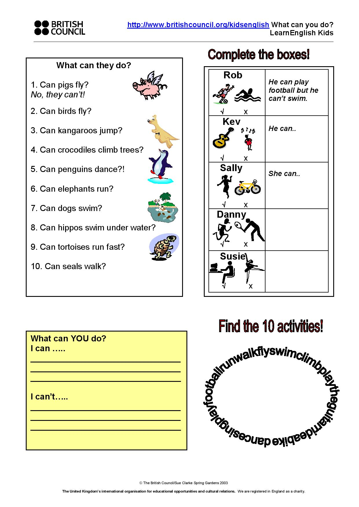 can or canu0026#39;t worksheet