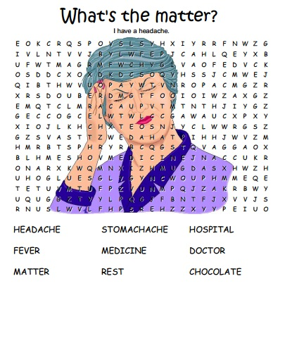health wordsearch