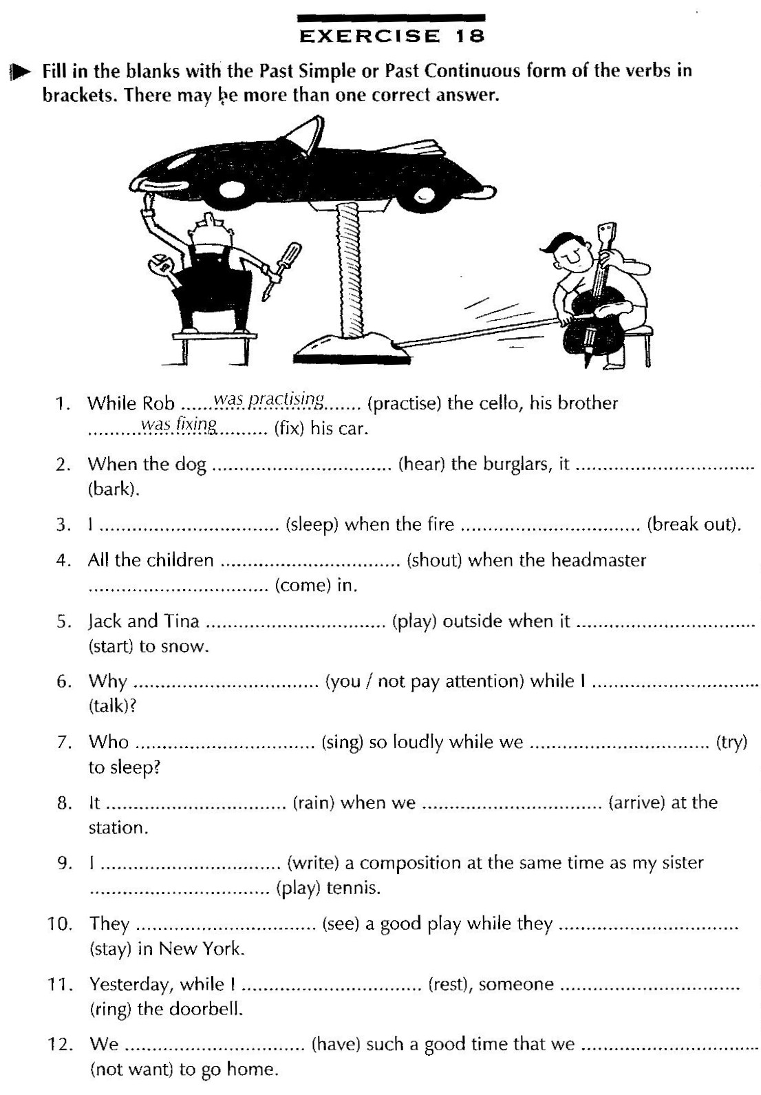 ... worksheets past tense verb worksheet simple present tense worksheets