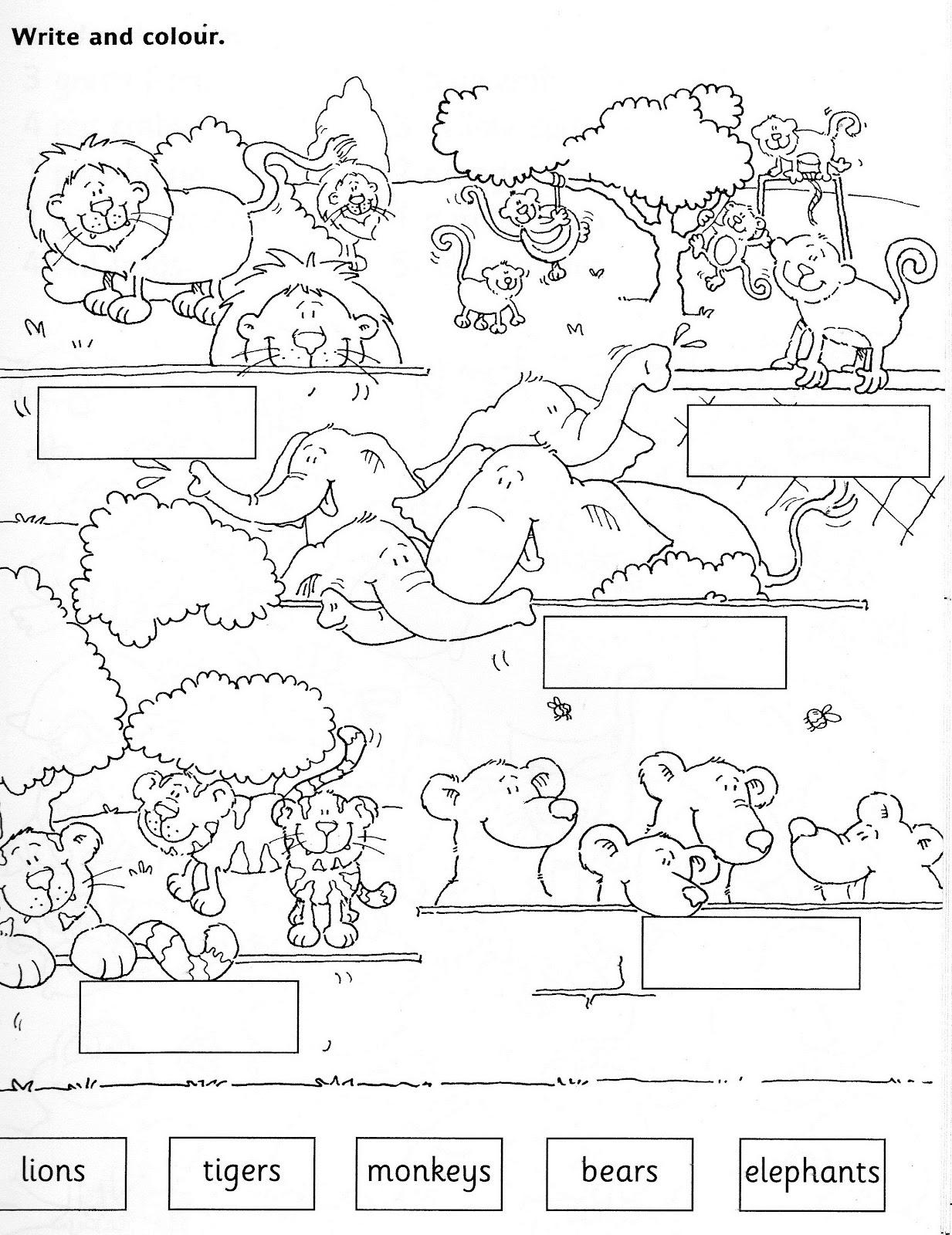 Domestic Animals Printable Worksheets Farm animals worksheet free – Animals Worksheet