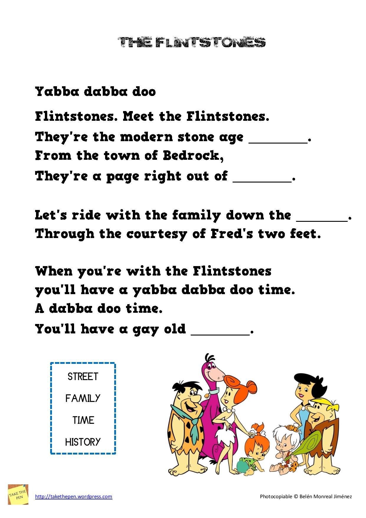 The Flintstones song