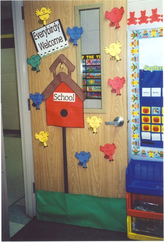 Welcome Decoration On Classroom Door ~ Classroom door decorationstake the pen