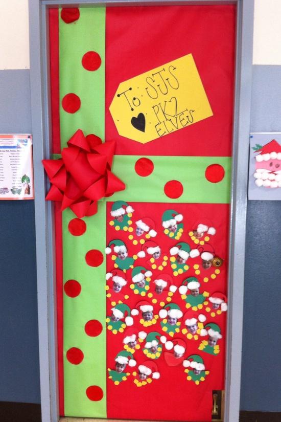 Christmas doorstake the pen for Door design ideas pinterest
