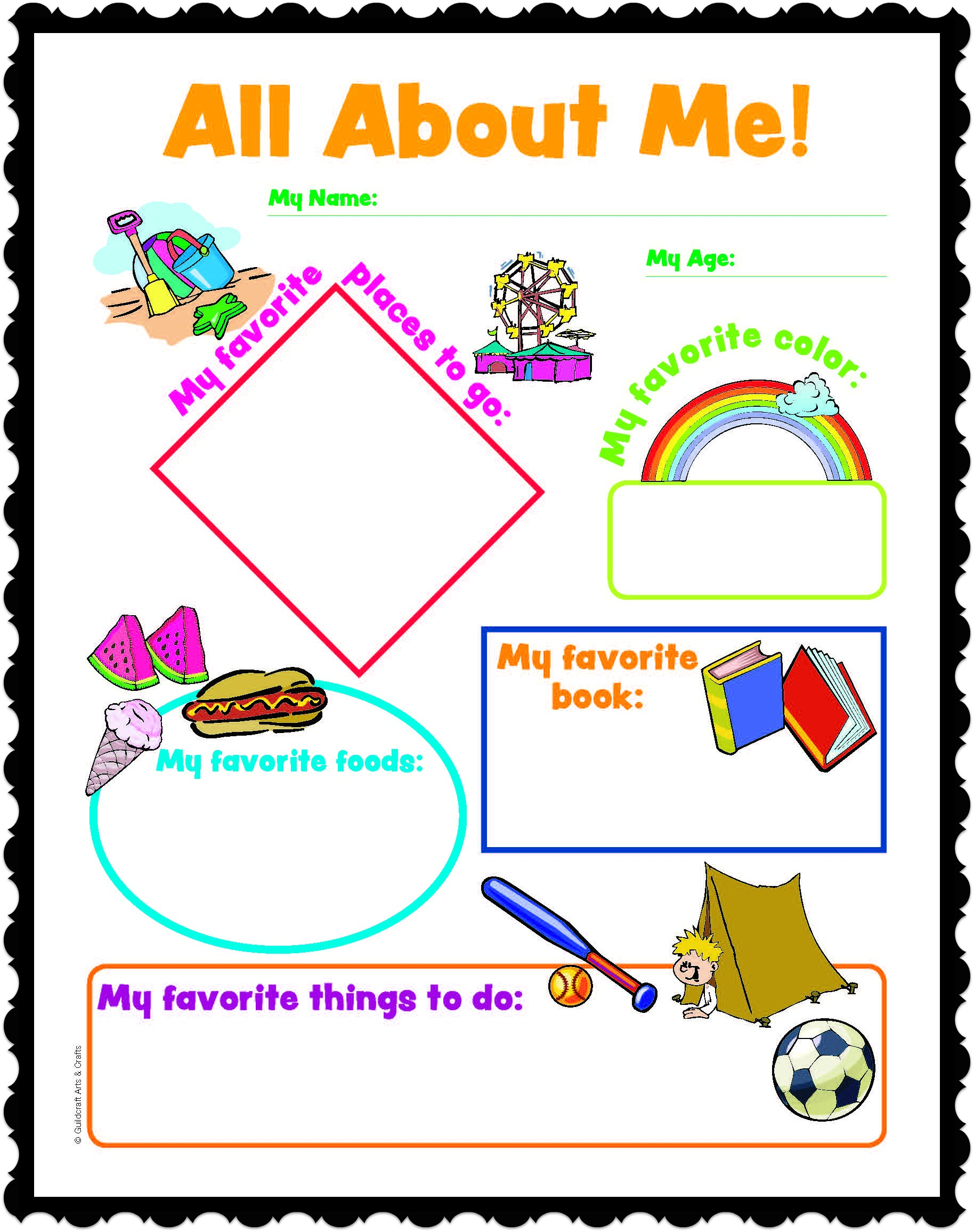 All about me worksheetstake the pen for All about me toddler crafts