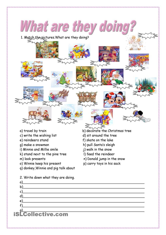 Resultado de imagen de presente continuo worksheet for kids