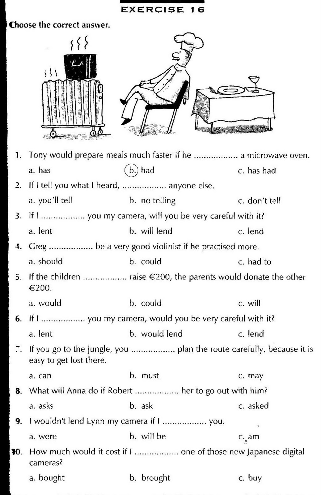 Workbooks past and present tense worksheets : Present past future progressive tense exercises